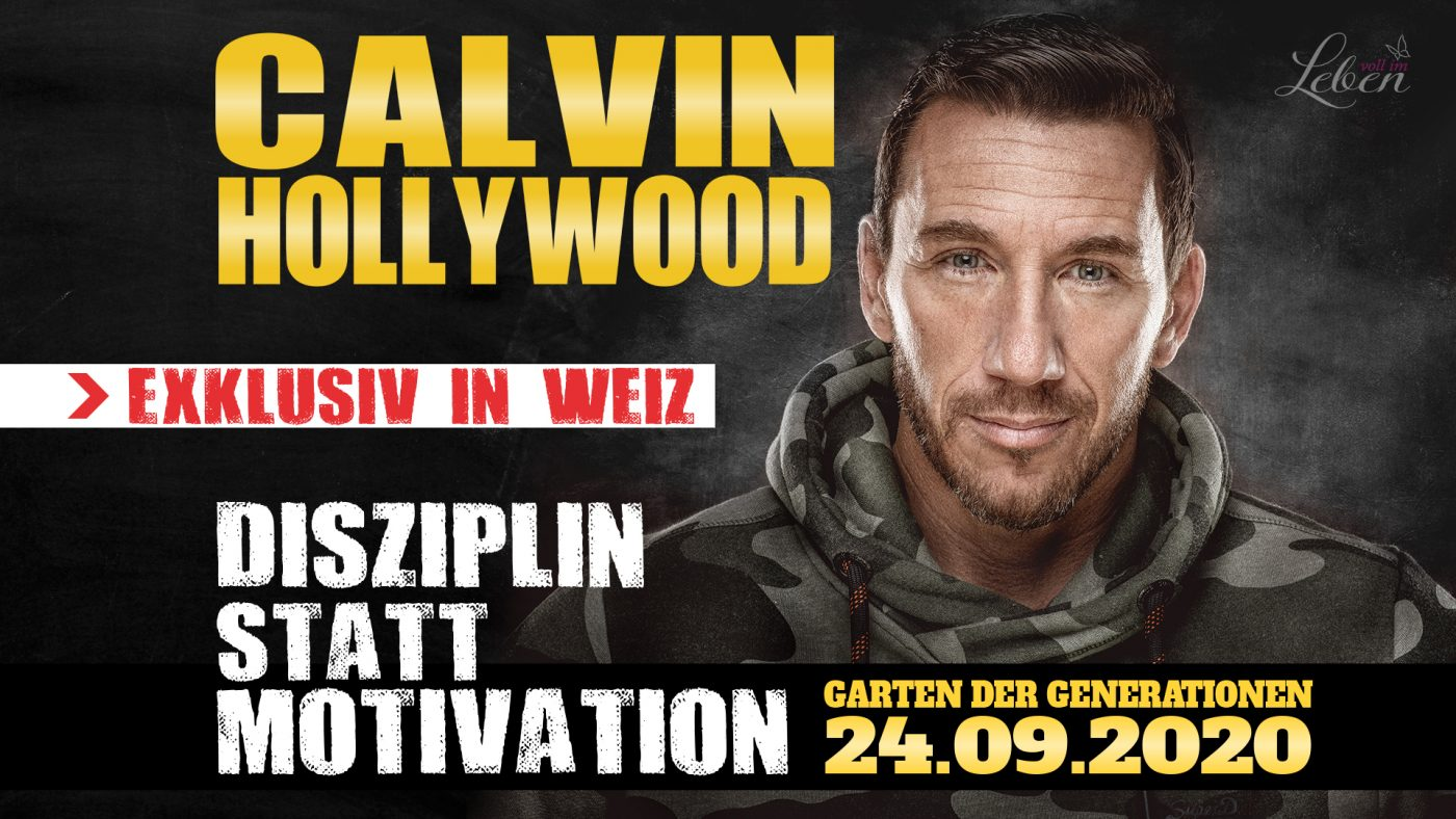 Titelbild Calvin Hollywood - Disziplin statt Motivation
